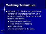 modeling techniques24