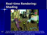 real time rendering shading73