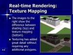 real time rendering texture mapping75