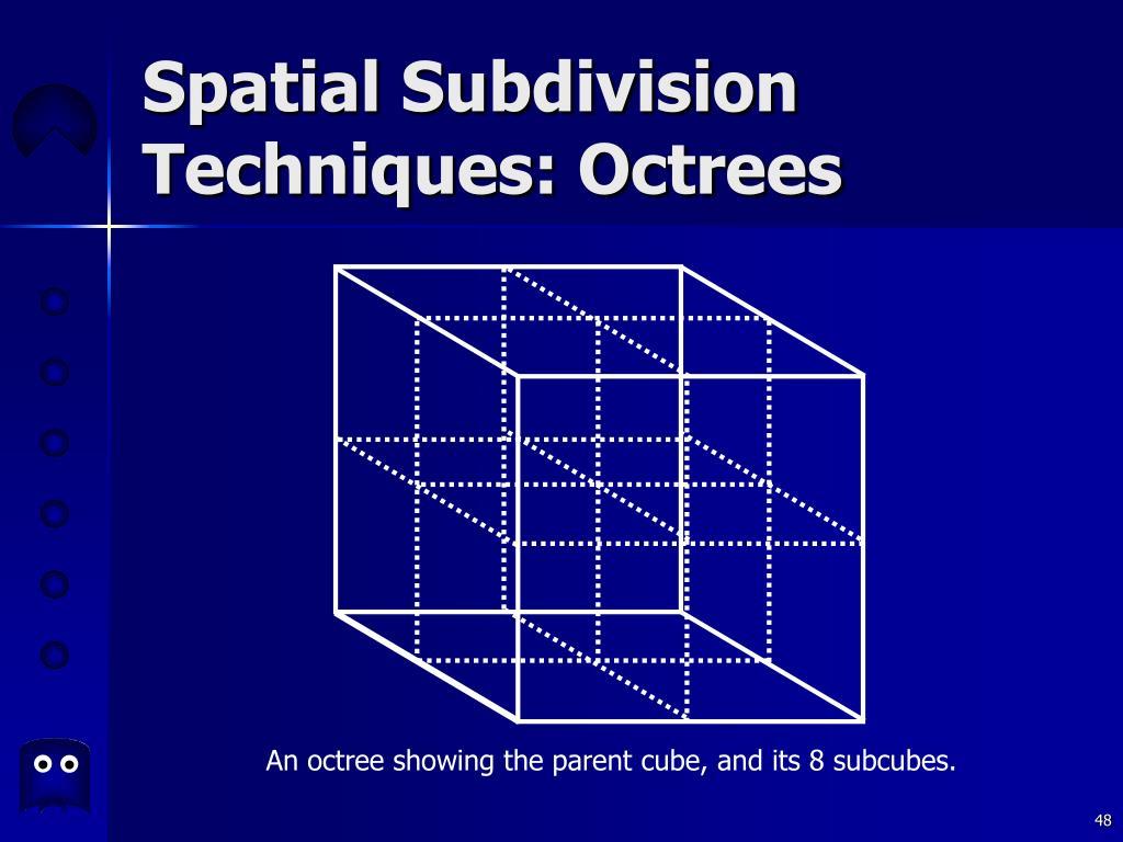 Spatial Subdivision Techniques: Octrees