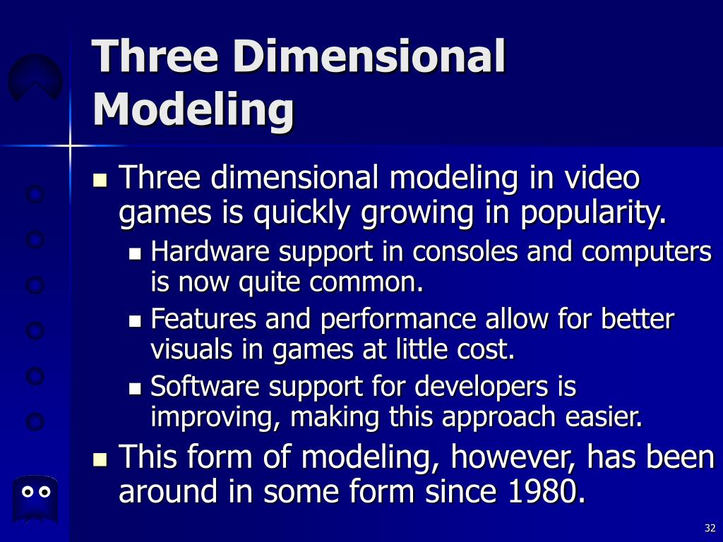 Three Dimensional Modeling