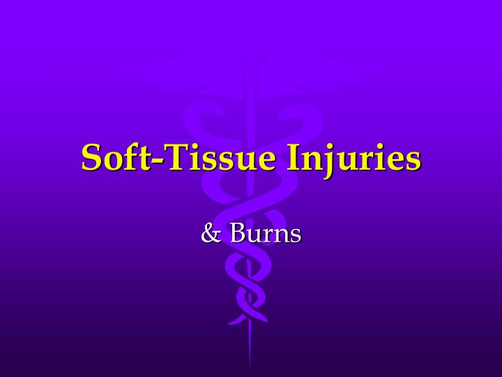 soft tissue injuries n.