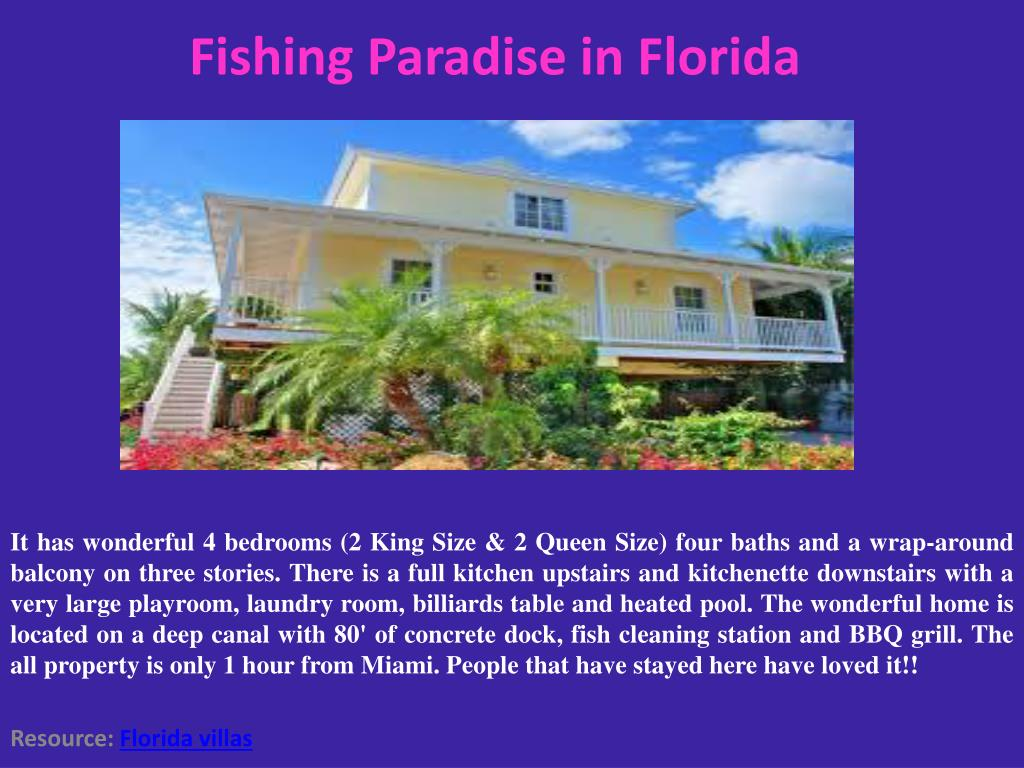 Fishing Paradise in Florida