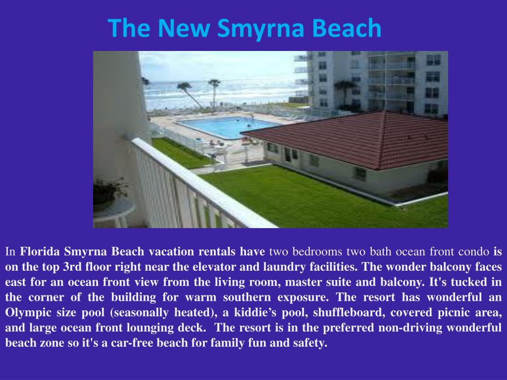 The New Smyrna Beach