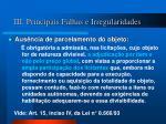 iii principais falhas e irregularidades2
