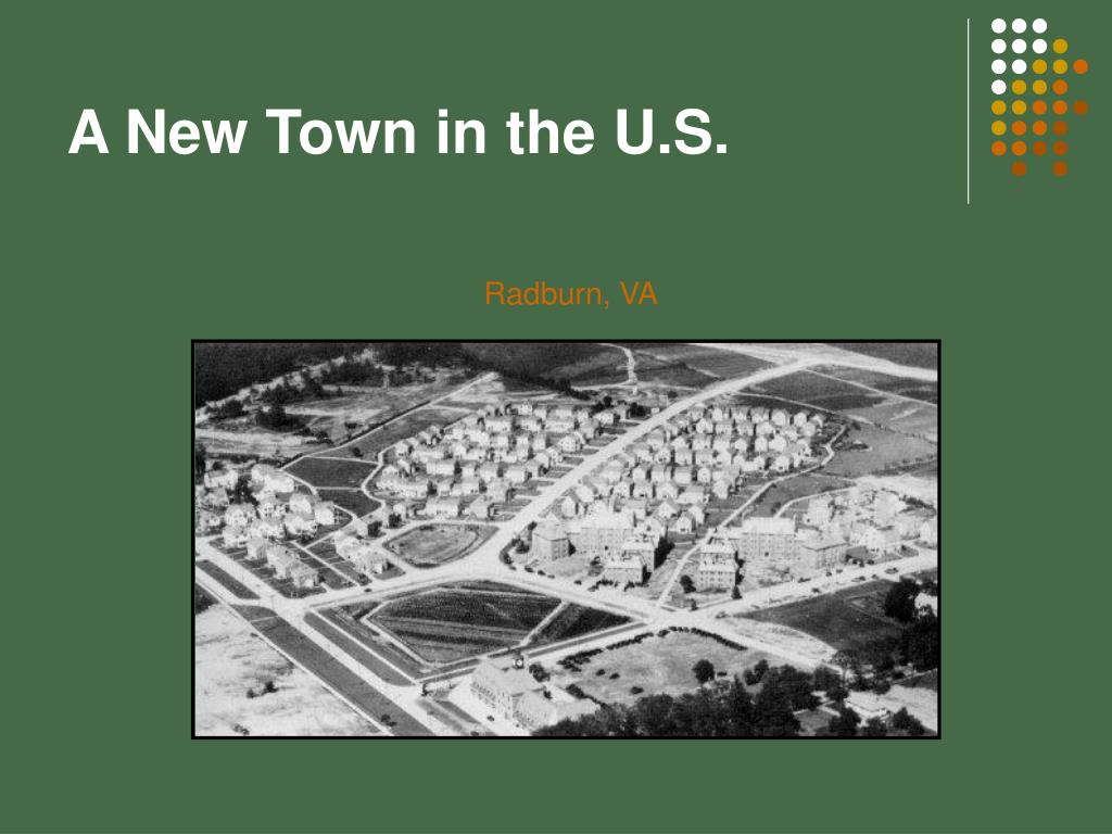 A New Town in the U.S.