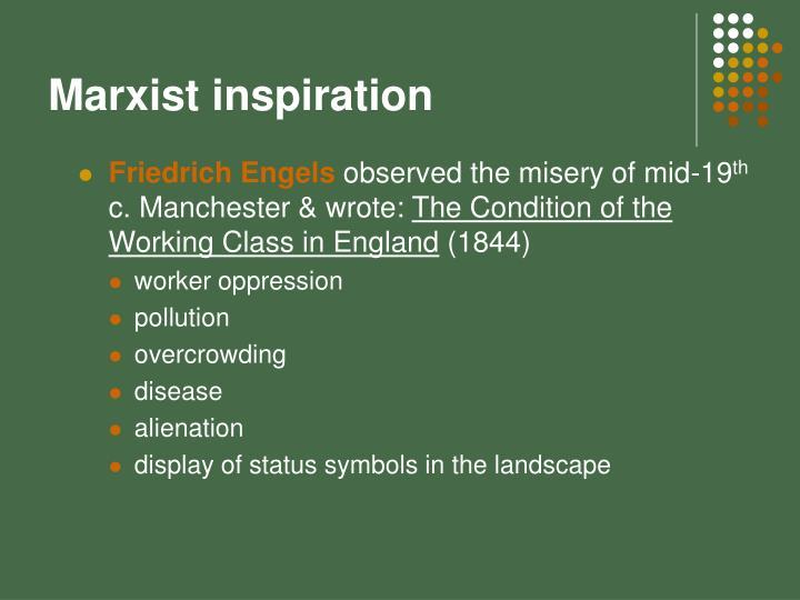 Marxist inspiration