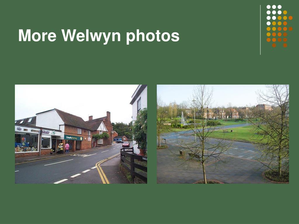 More Welwyn photos