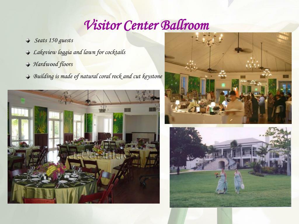 Visitor Center Ballroom