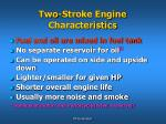 two stroke engine characteristics