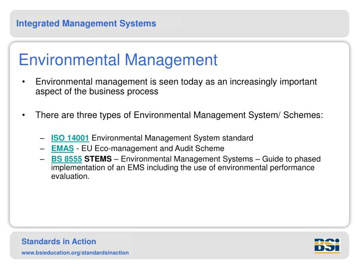 Environmental Management Systems Guide
