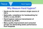 why measure hand hygiene