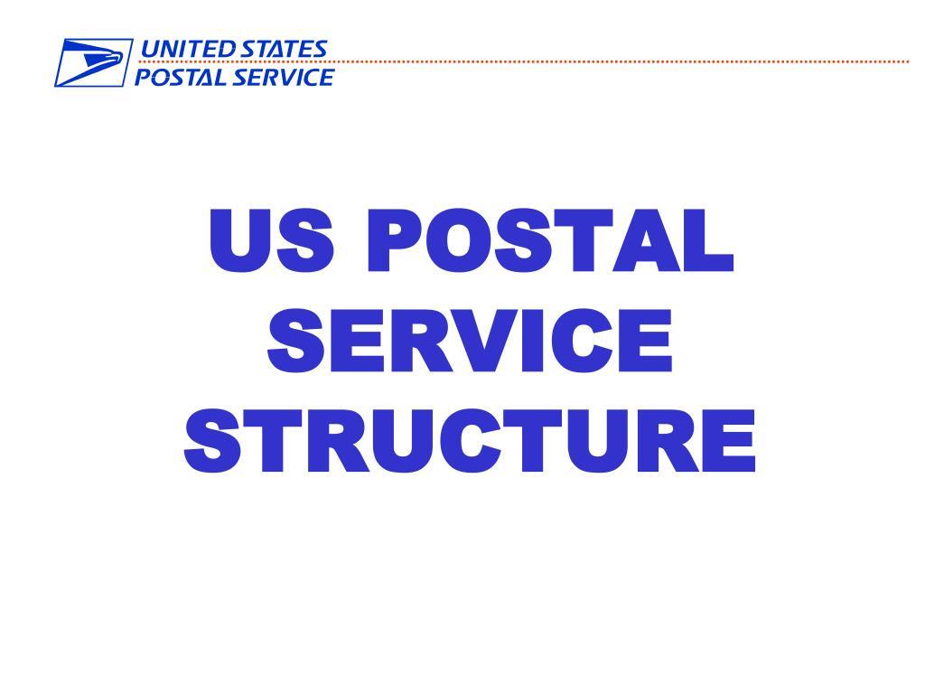 us postal service structure l.