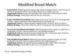 modified broad match26