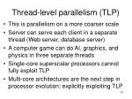 thread level parallelism tlp