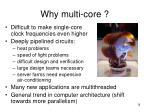 why multi core