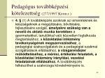 pedag gus tov bbk pz si k telezetts g 277 1997 korm r63