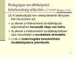 pedag gus tov bbk pz si k telezetts g teljes t s 277 1997 korm r 6
