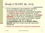 rad j 138 1992 kr 1645