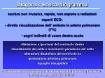 diagnosi ecocardiogramma