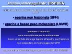 terapia anticoagulante eparina45