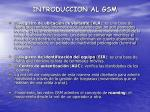 introduccion al gsm11