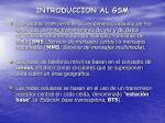 introduccion al gsm7