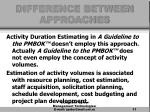 difference between approaches11
