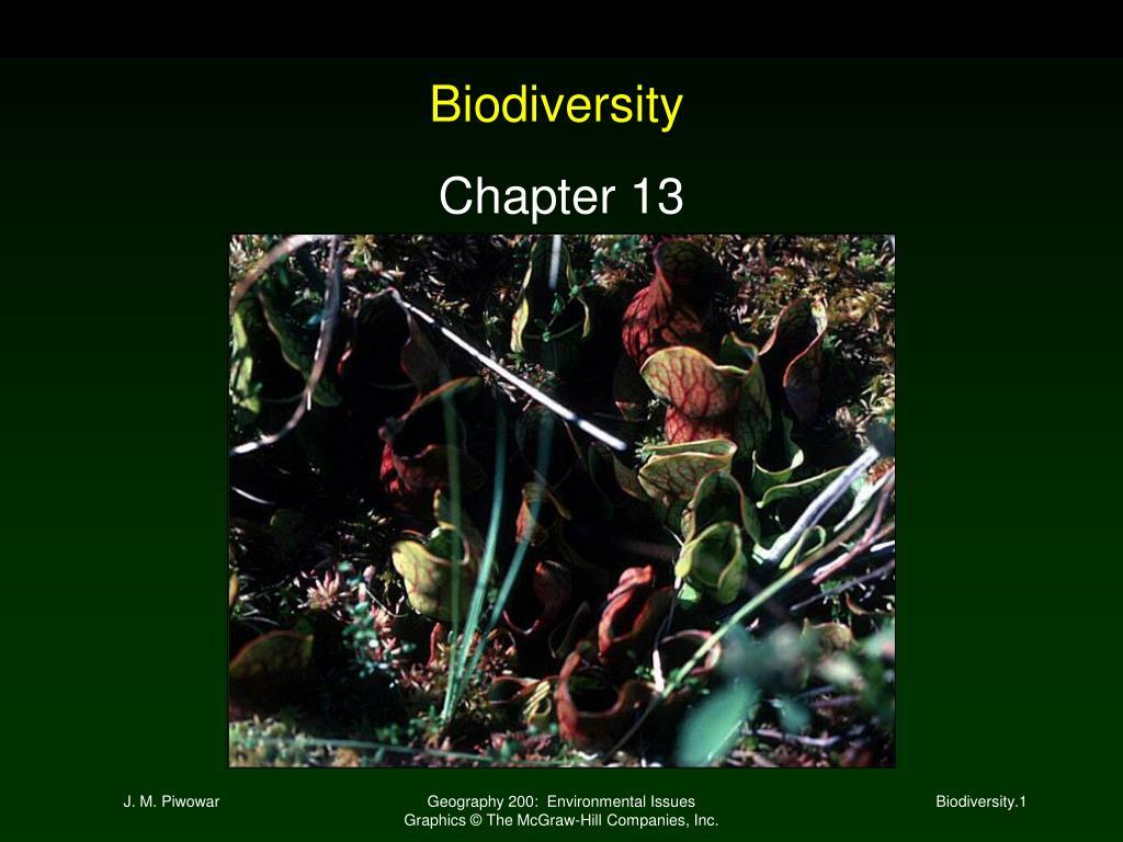 biodiversity l.