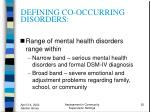 defining co occurring disorders20