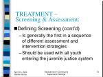 treatment screening assessment72