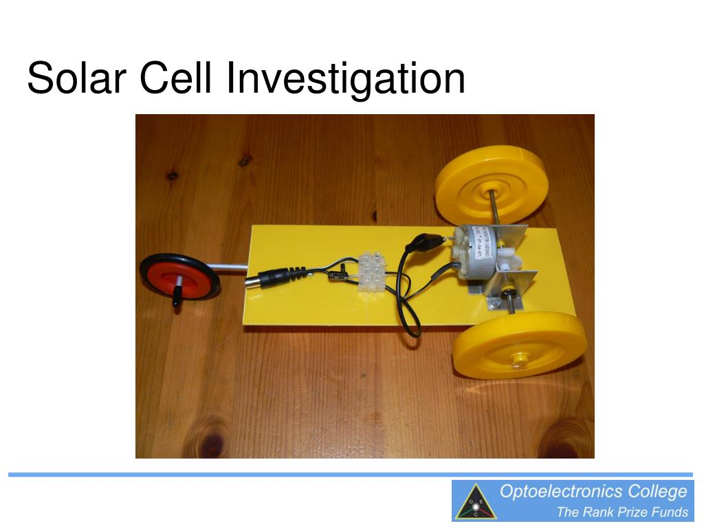solar cell investigation l.