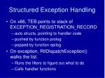 structured exception handling1