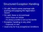 structured exception handling2