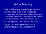 virtual memory1