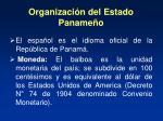 organizaci n del estado paname o12