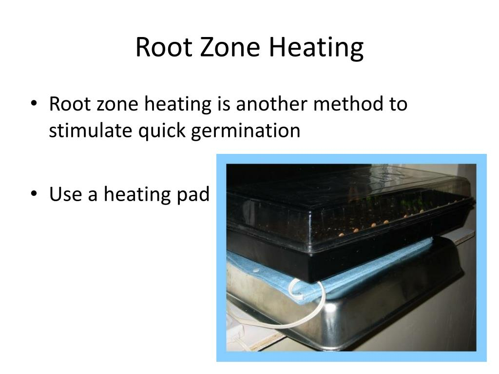 Root Zone Heating