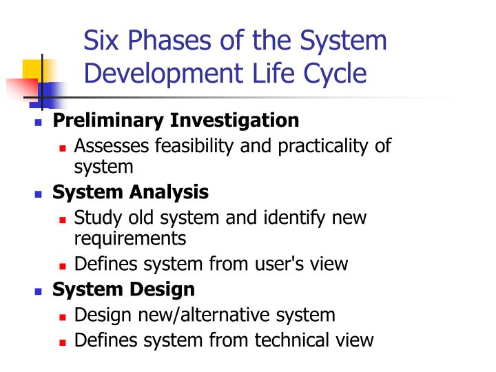 why is design phases important in the system development life cycle Sdlc phases define key schedule and delivery points which ensure timely and correct delivery to the client requirements gathering, design, construction, integration, testing, implementation sdlc is must for development, since pm uses to monitor and control each phase, and can compare each.