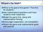 where s the math29