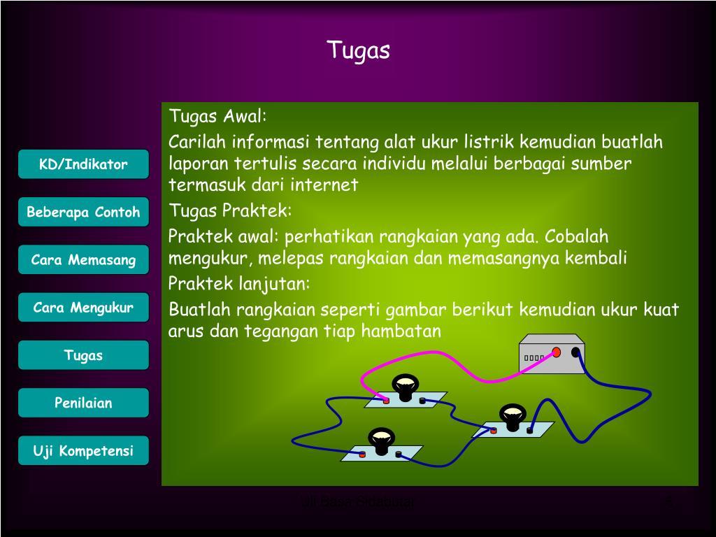Tugas Awal:
