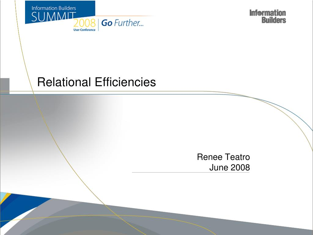 relational efficiencies l.