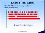 shared pool latch7