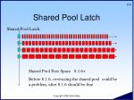shared pool latch9