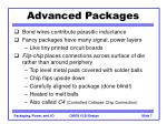 advanced packages