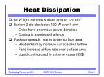 heat dissipation