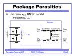 package parasitics