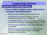 leadership actions18