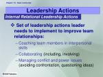 leadership actions19