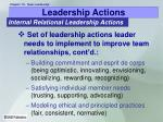 leadership actions20