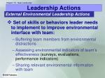 leadership actions22